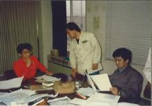国際航業日野技術所時代の私(昭和56年頃23歳)